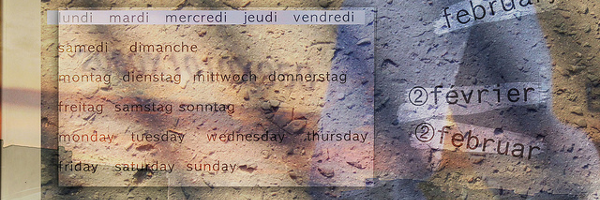 Un calendrier transparent pour le bureau de Windows