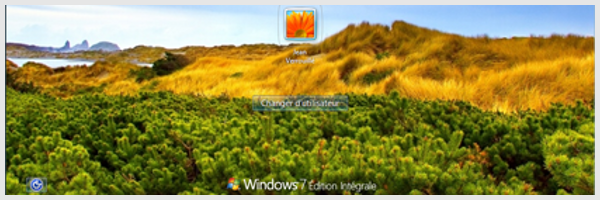 Changer l'image d'ouverture de session sous Windows 7