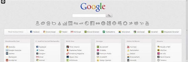 "Bookolio : customisez la page ""Nouvel onglet"" de Chrome"