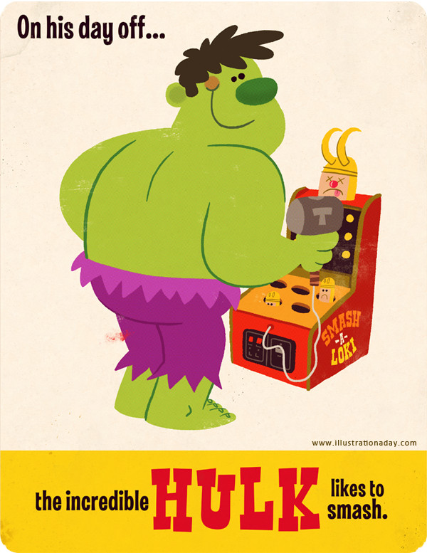 Illustration Hulk