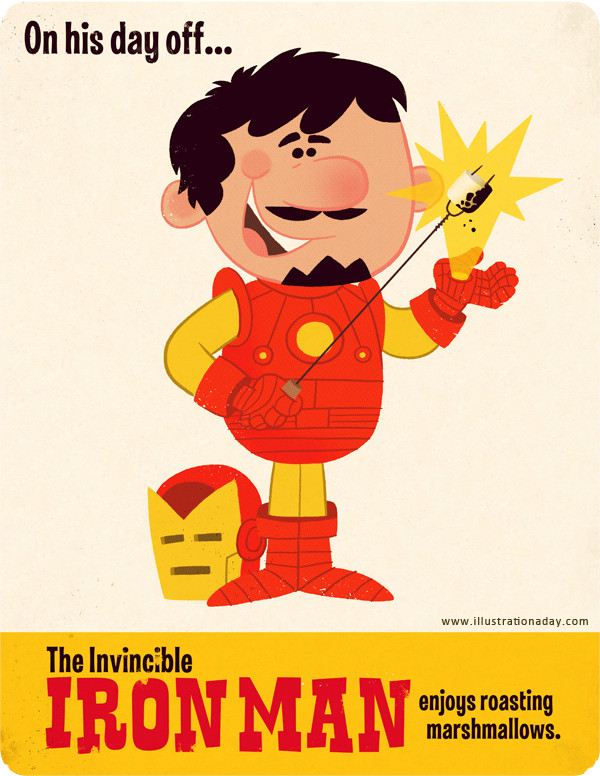 Illustration Iron-man
