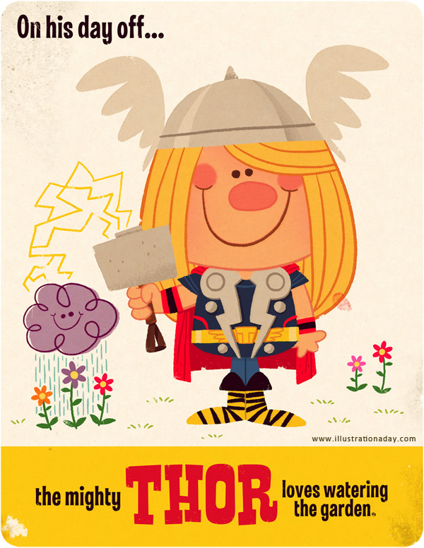 Illustration Thor