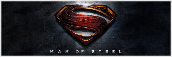 Bannière officielle du film Man of Steel