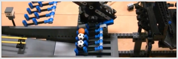 Lego Great Ball Contraption : les Lego besogneux