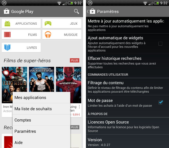 Comment bloquer les achats in-app sur Android