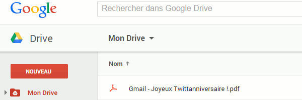 how to send email to google drive
