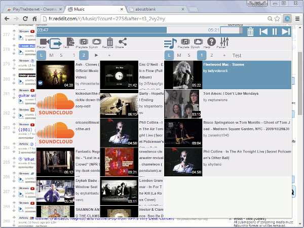 Un nouveau player musical pour Chrome : PlayTheInternet