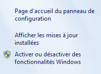 Afficher les mises à jour installees - Supprimer la notification « Obtenir Windows 10 »