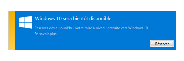 Comment supprimer la notification « Obtenir Windows 10 »